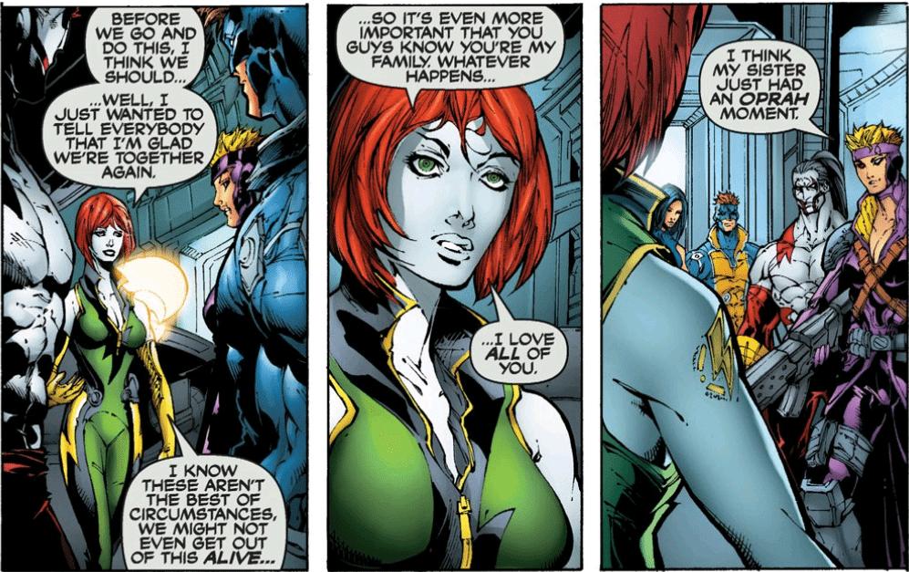 Cyberforce [Top Cow Comics, 2006]