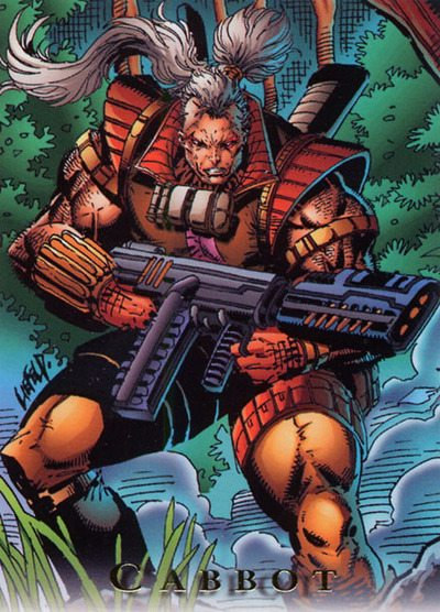 Rob Liefeld's Cabbot, Bloodstrike, 1993