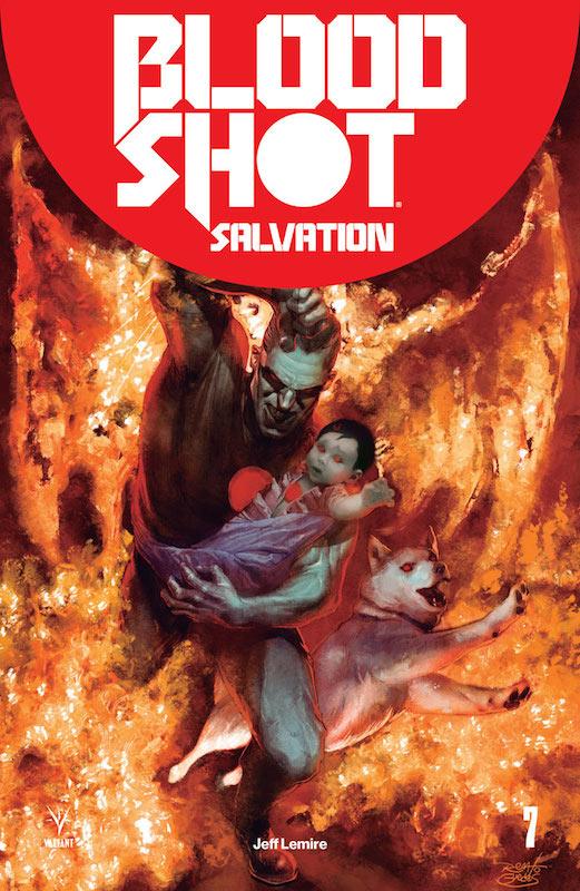 Bloodshot Salvation #7, Renato Guedes cover, Valiant Comics