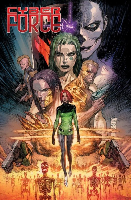 Cyber Force #1 (Top Cow Comics, March 2018)