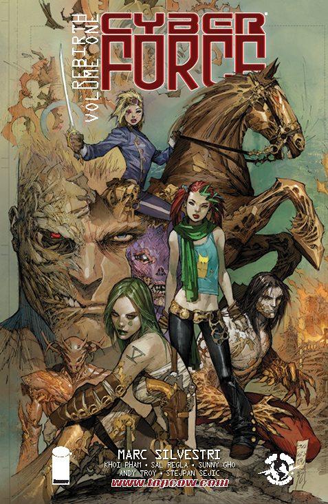 Cyberforce Rebirth Volume 1 (Top Cow Comics, 2012)