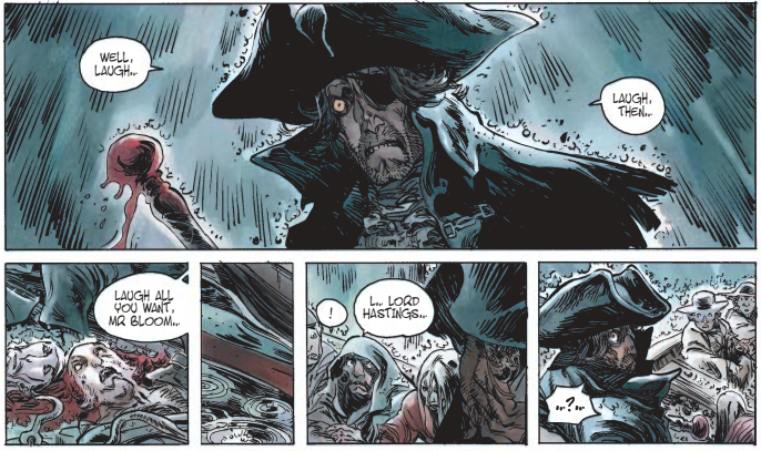 Long John Silver: Lady Vivian Hasting, Written by Xavier Dorison, Illustrated by Mathieu Laufray Published in French by Dargaud, Published in English by Cinebook