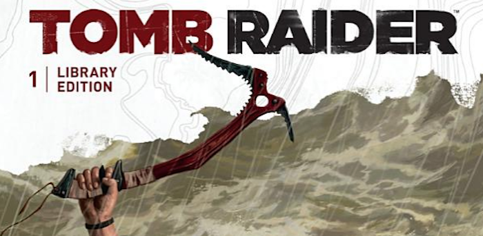 Tomb Raider library edition cover banner, Dark Horse