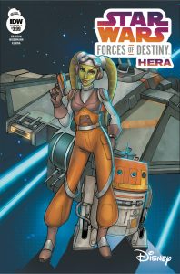 Star Wars Force of Destiny Hera IDW Publishing Cover A January 17, 2018