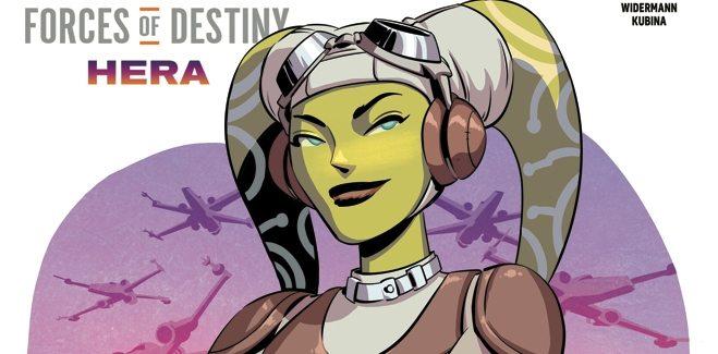 Star Wars Force of Destiny Hera IDW Publishing Cover B January 17, 2018