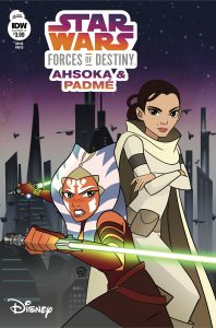 Star Wars Adventures: Forces of Destiny Ahsoka and Padme Cover A Pub: IDW Publishing. 24 January, 2018