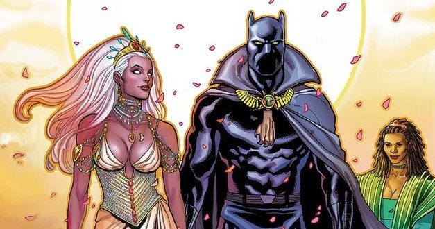 The Wedding Issue: Storm and Black Panther