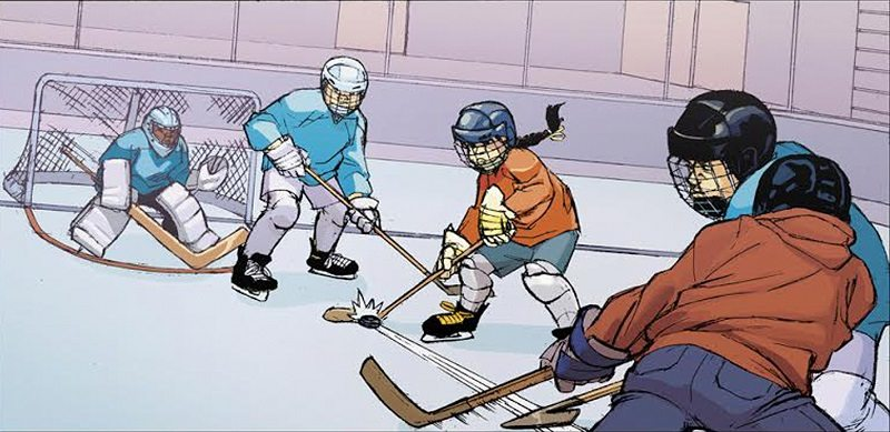 Stephanie Phillips' NWHL Comic is Kicking Ice and Taking Names