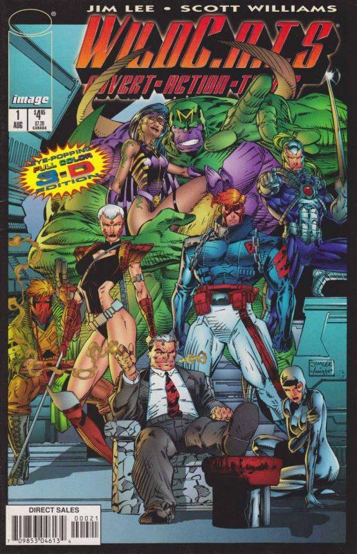 WildCATS, Jim Lee & Brandon Choi, Image Comics, 1992