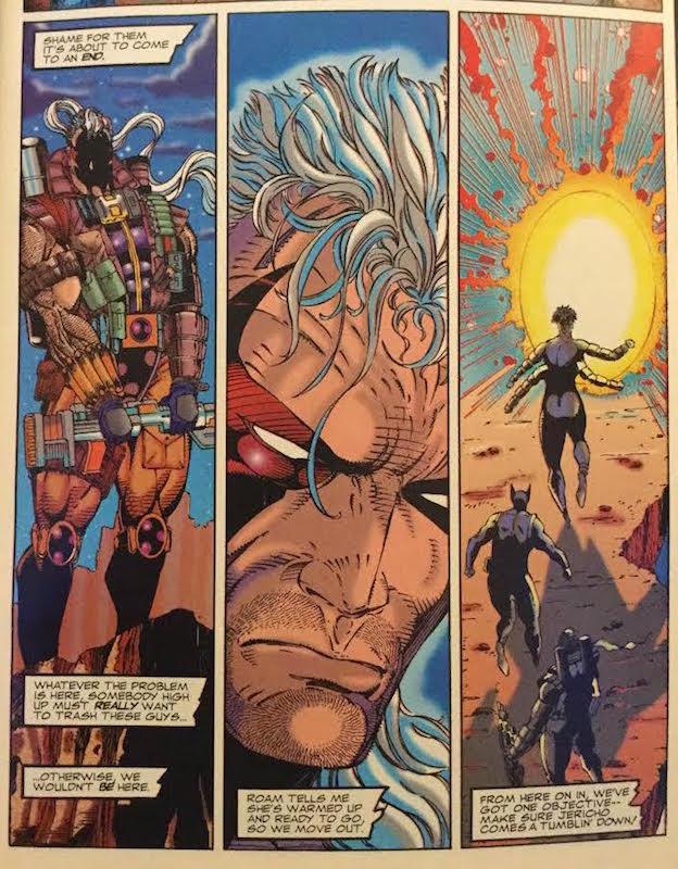 Bloodstrike #1, Liefeld/Miki/Fraga/Talman/Murray, Stephenson script, Extreme Studios at Image Comics, 1993