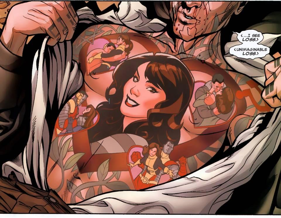 Colossus's feelings, Dodson, Marvel