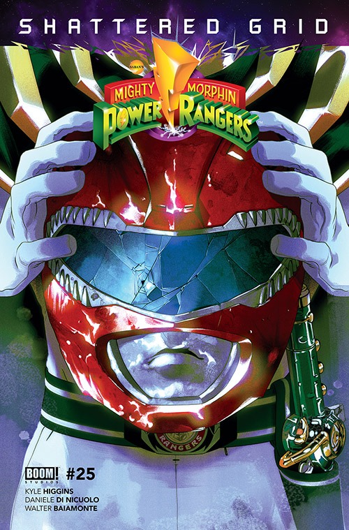 BOOM! Studios & Saban's Power Rangers Shattered Grid even cover Might Morphin #25