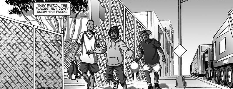 BLACK Page 2 Kwanza Osajyefo (Writer), Jamal Igle (Artist) Publisher: Black Mask Studios