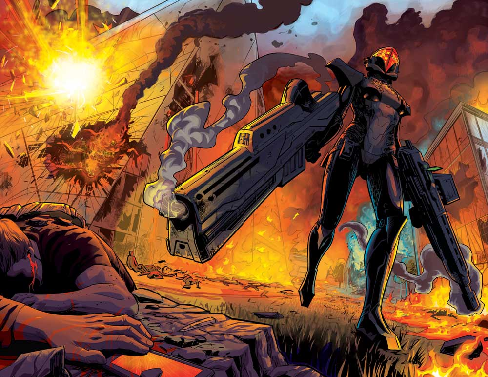 Cyber Force #1: The Tin Men Evolution Continues