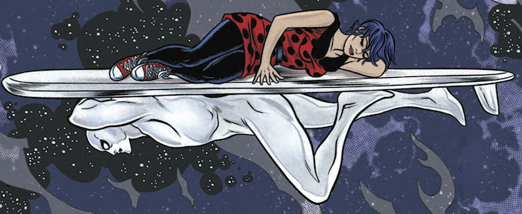 Marvel's Silver Surfer Knocked Off Doctor Who, Becoming Great in the Process