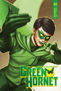 Green Hornet #1 Cover A by Mike Choi Amy Chu (Writer), German Erramouspe (Artist) Publisher: Dynamite Comics