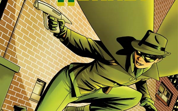 Green Hornet #1 Cover C by Mike McHone Amy Chu (Writer), German Erramouspe (Artist) Publisher: Dynamite Comics