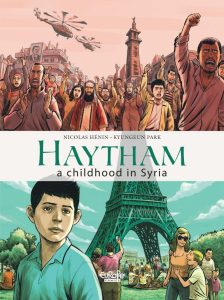 Haytham Cover Nicolas Hénin (Writer), Kyungeun Park (Artist) Publisher: Europe Comics