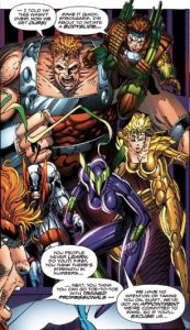 The-Four - Youngblood #3 - Sept 1992/March 2010 - Joe Casey (Writer), Rob Liefeld (Artist), Matt Yackey (Colors)