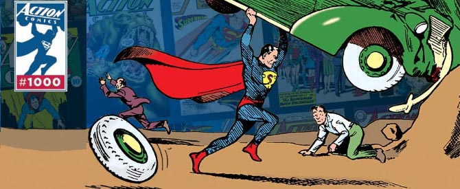 80 Years of Leaping Tall Buildings: Action Comics #1000