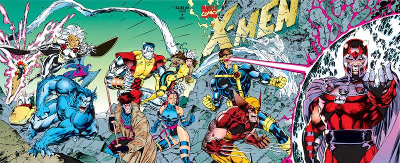 Jim Lee's X-Men #1 cover, marvel comics, 1991