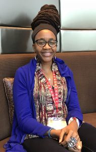 Nnedi Okorafor at Emirates Airline Festival of Literature 2018