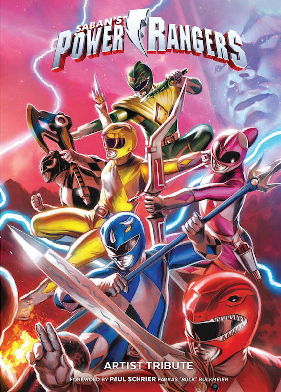 Saban's Power Rangers Artist Tribute HC Publisher: BOOM! Studios Writer: N/A Artists: Kris Anka, Marcus To, Dan Mora, Daniel Bayliss, Xermanico, Zak Hartong, Jakub Rebelka, Adam Gorham, Daniele Di Nicuolo, and more! Cover Artist: Felipe Massafera
