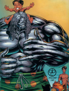 Impact of Cyberforce, created by Marc Silvestri for Top Cow