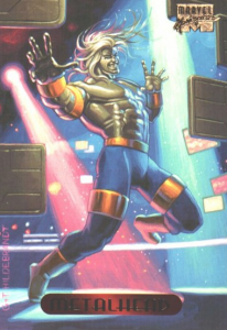 Metalhead of X-Men 2099, Marvel Comics, created by Ron Lim and John Francis Moore, art by G + T Hildebrandt