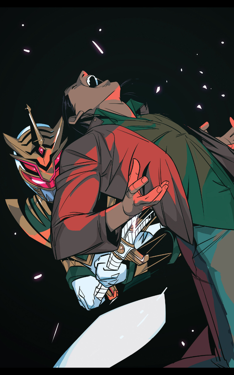 Lord Drakkon Kills Tommy Oliver in Mighty Morphin Power Rangers Issue 25