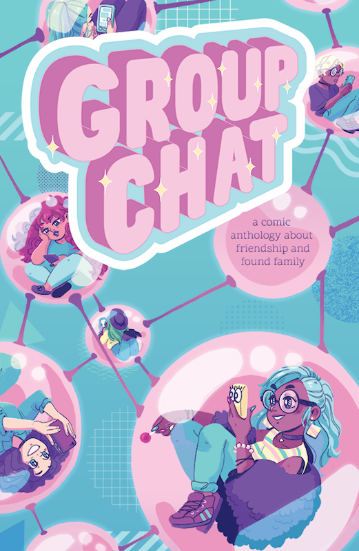 Group Chat cover, Victoria Grace Elliot, POME Press, 2018