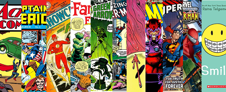 The Many Ages of American Comics