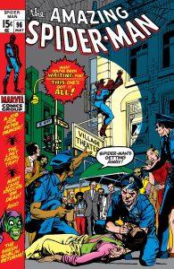 Amazing Spider-Man #96 - Marvel Comics - 1971 - Stan Lee, John Romita and Gil Kane