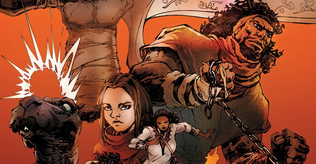 Antar: The Black Knight #1 Brings History to Life