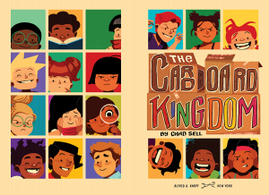 Two-page spread featuring a small portrait of each inhabitant of the kingdom