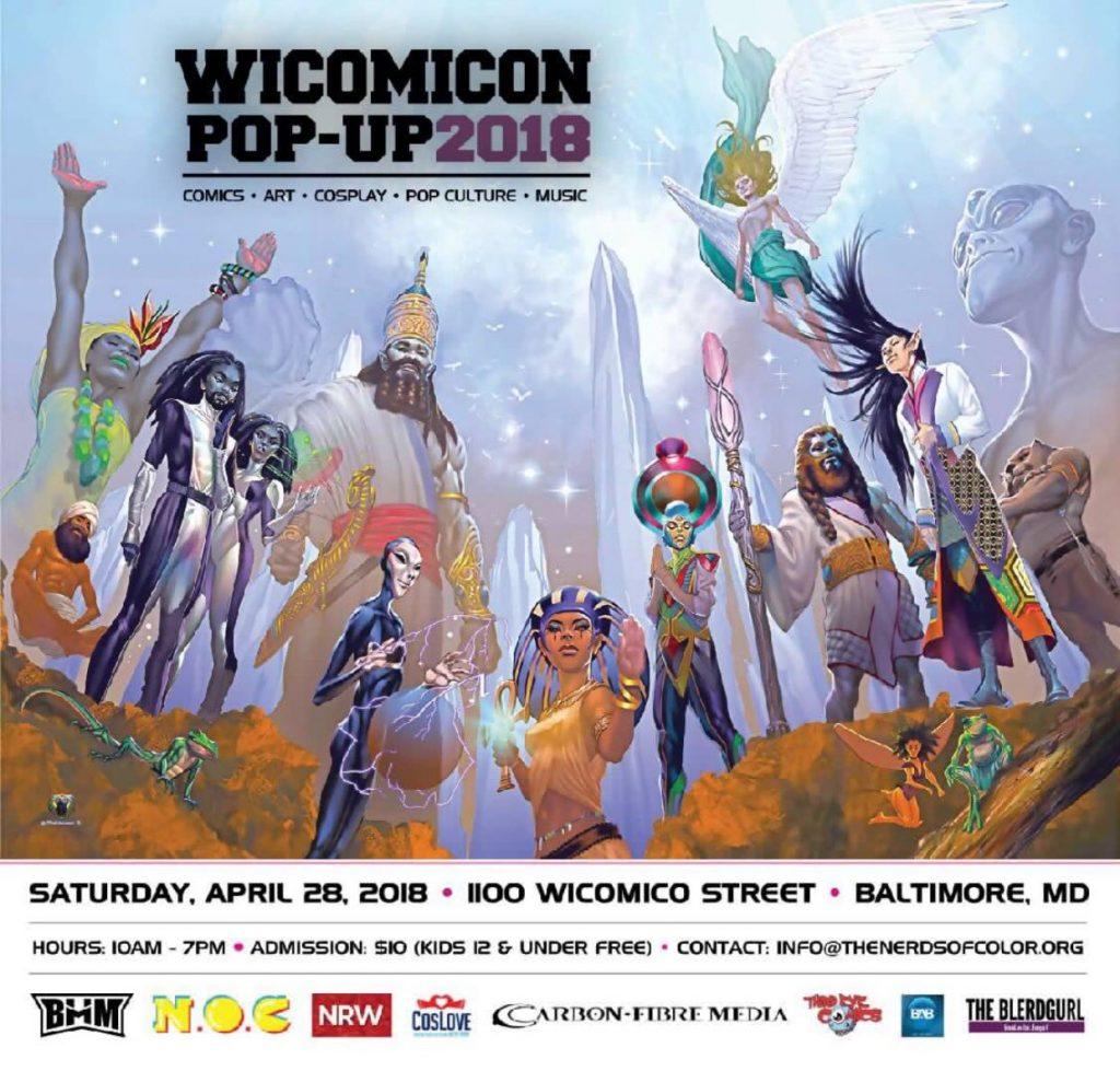 Wicomicon 2018 promo image