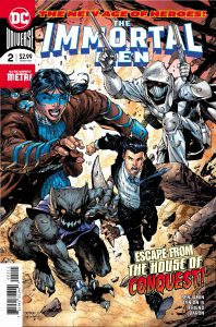 The Immortal Men #2 - DC Comics - Jim Lee, Scott Williams, Alex Sinclair