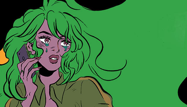 Snot Everywhere: An Interview with Snotgirl's Leslie Hung