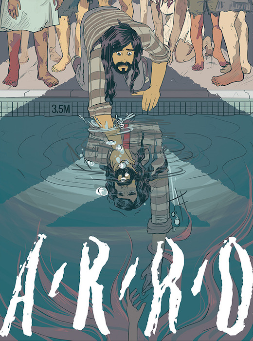 Cover to Arro Volume 2, Ali Burke and Tara Harris, 2018