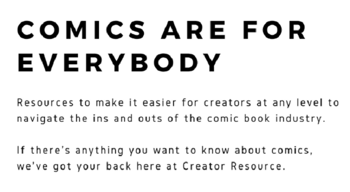 """""""Comics Are for Everybody"""""""