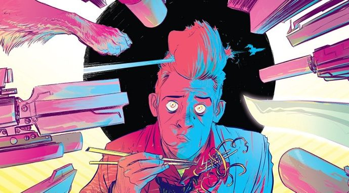 The Weatherman #1 Is Beautiful Sci-Fi Fun