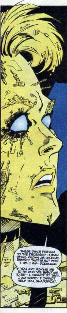 Douglock in Excalibur Annual #2 (Marvel Comics, 1994)