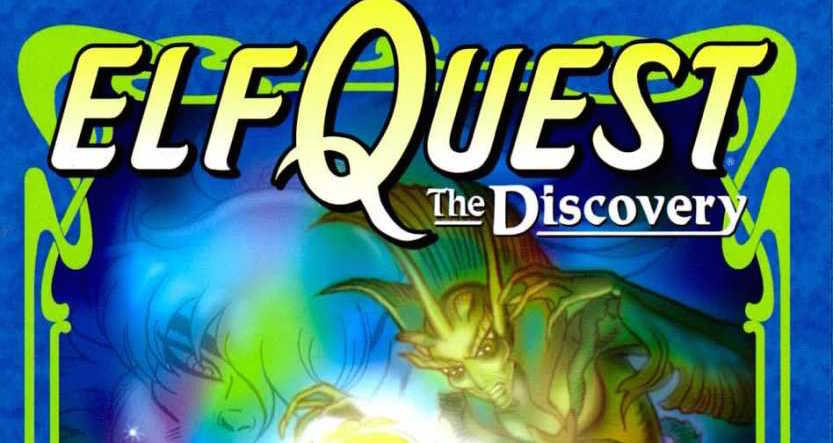 Wendy Pini Elfquest The Discovery cover banner crop