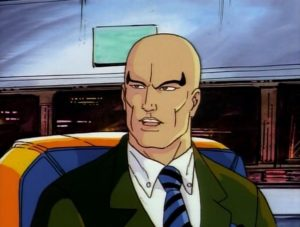 Charles Xavier in the X-Men Animated Series
