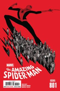 a group of people cast a shadow in the shape of spider-man