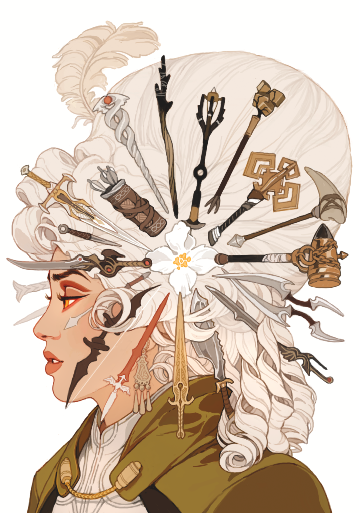 Dragon Age: Deception #1 cover by Sachin Teng, Dark Horse Comics 2018