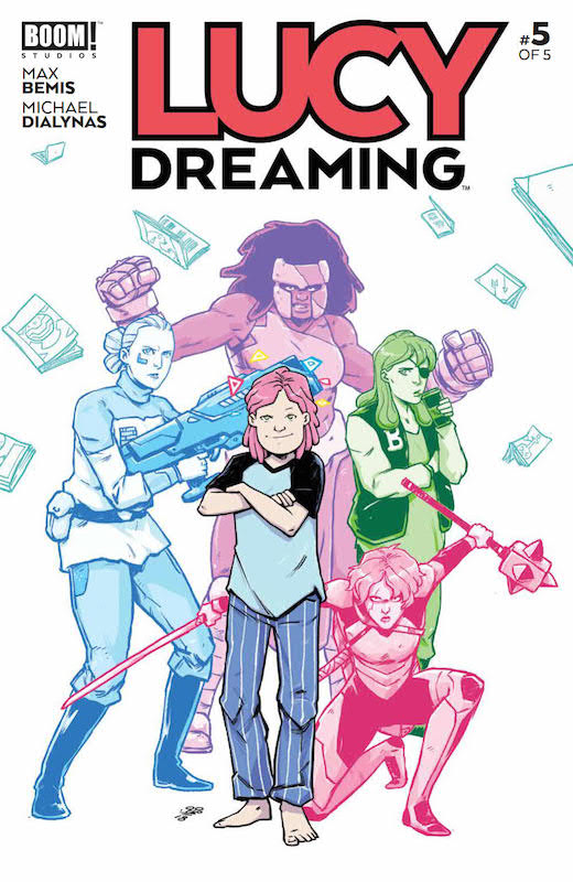 Lucy Dreaming #5 (of 5) Publisher: BOOM! Studios Writer: Max Bemis Artist: Michael Dialynas Cover Artist: Michael Dialynas Letterer: Ed Dukeshire