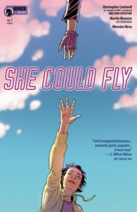 Cover for She Could Fly #1 (2018)