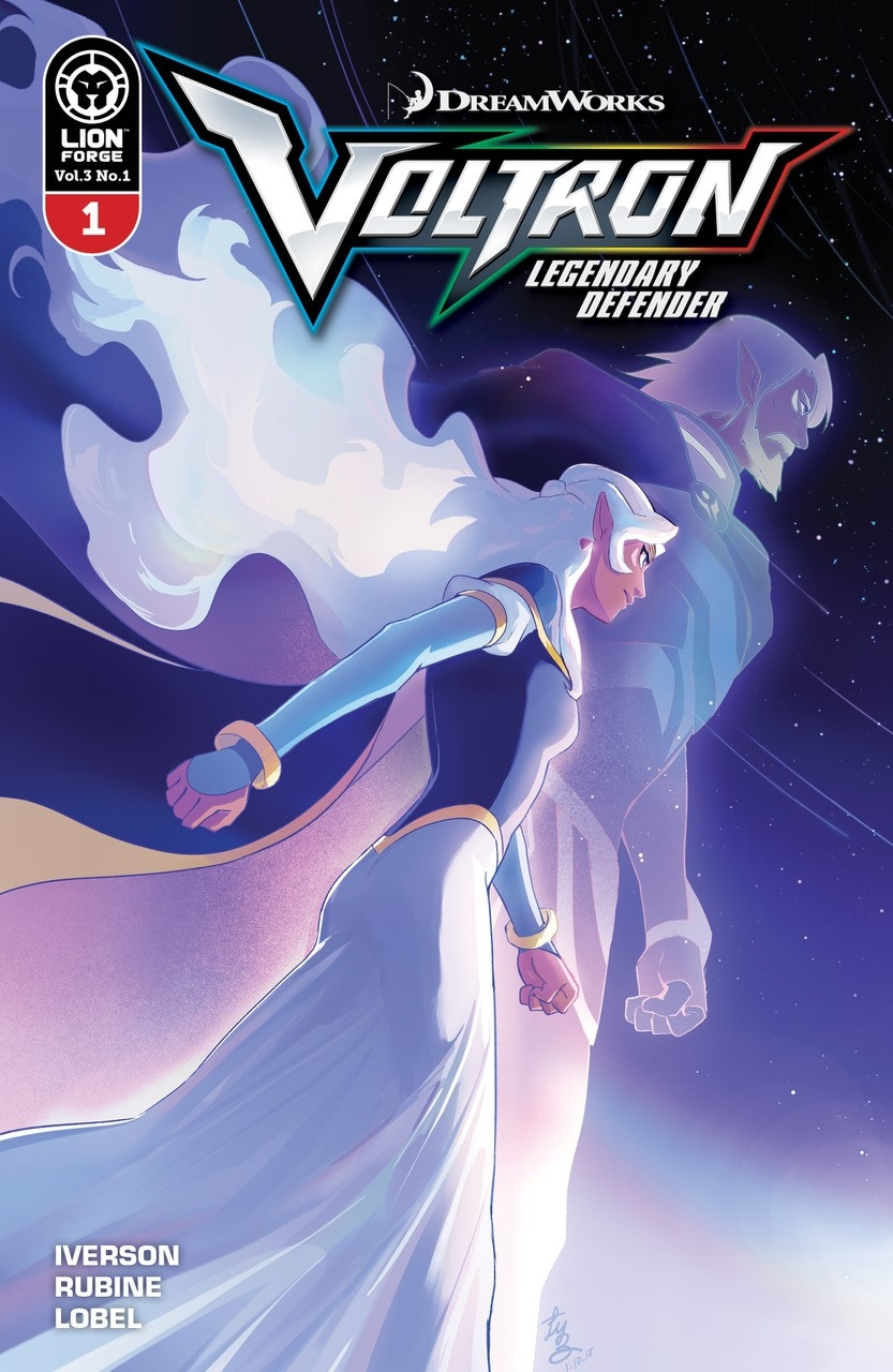 Voltron: Legendary Defender Volume 3 #1 cover