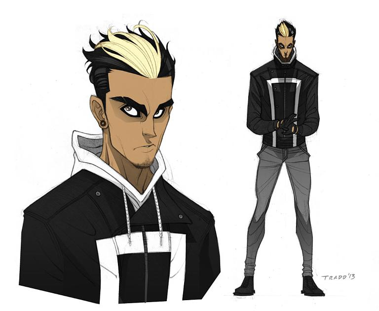 Robbie Reyes All-New Ghost Rider Tradd Moore (artist)